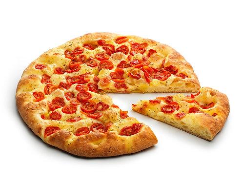 Tomaatti-öliiviöljy Focacciona