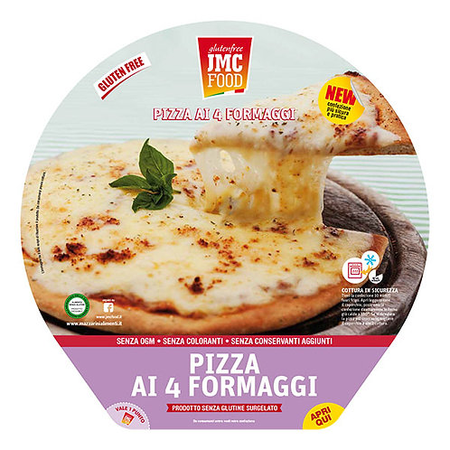 Neljän juuston pizza