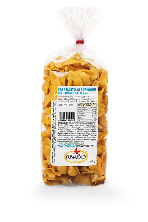 Cappelletit juustotäytteellä