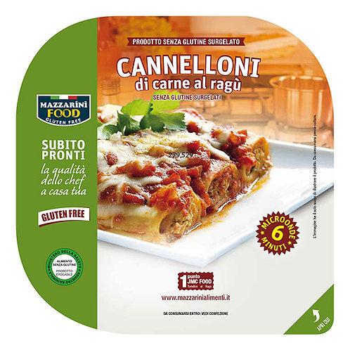 Lihatäytteiset cannelonit jauhelihakastikkeessa