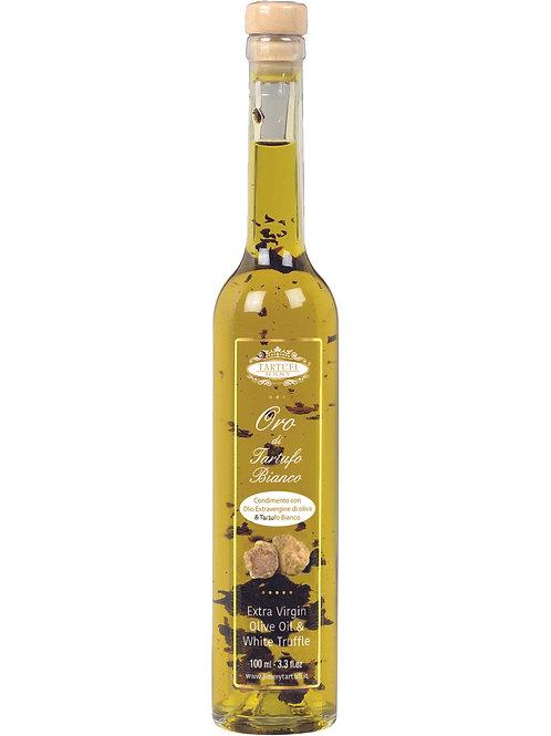 Valkotryffeli-oliiviöljy