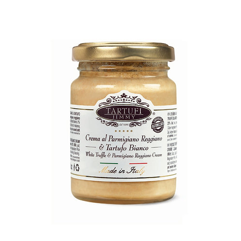 Parmigiano Reggiano-parmesankerma valkotryffelillä