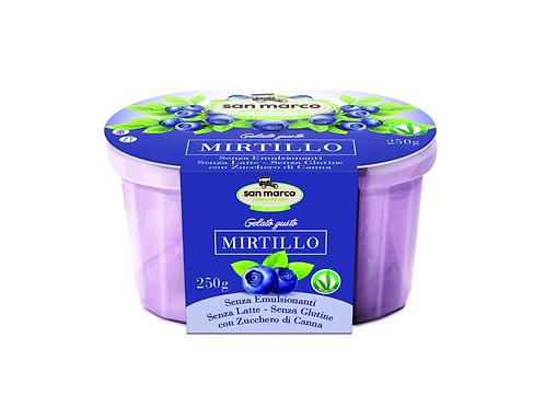 i Veganissimi mustikanmakuinen gelato