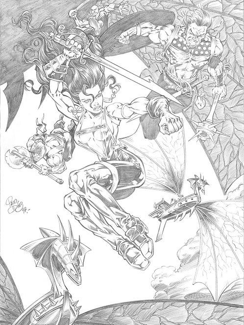 Warrior Queens 1 - Diaz 1