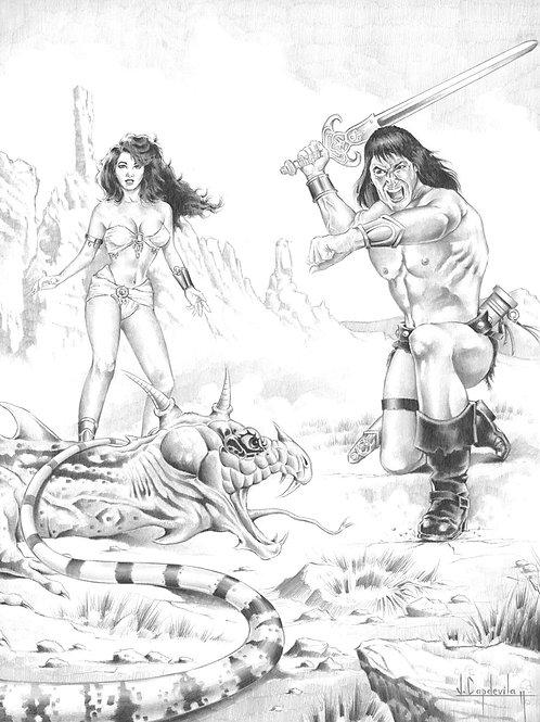 Conan The Cruel - Capdevila 2