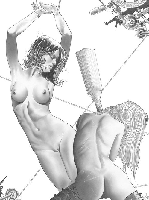 Spanking Tails 2 - Buci 1