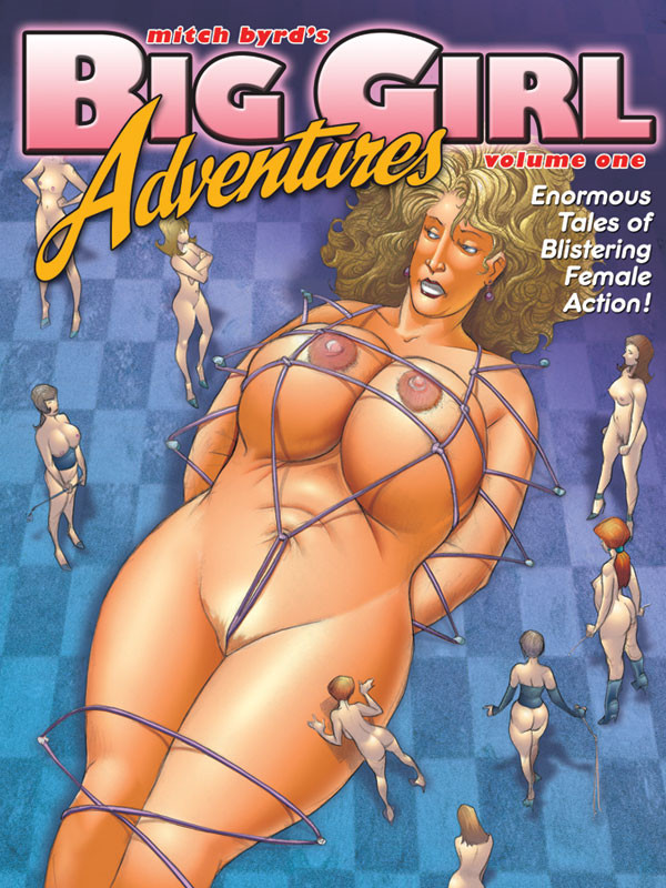 Cover art to Big Girl Adventures