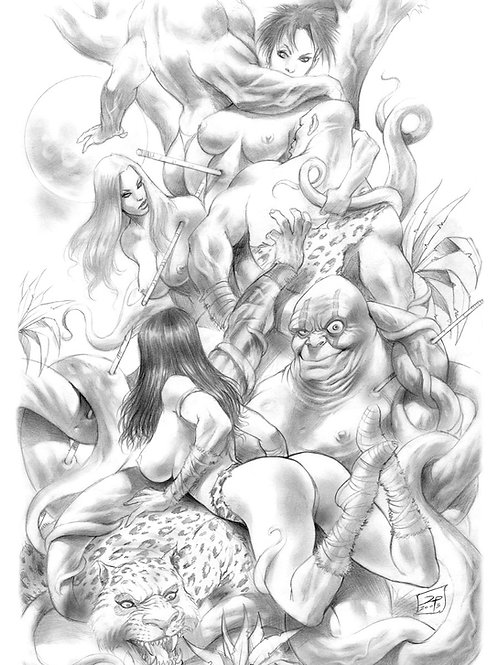 Jungle Tails 4 - Parrillo 1