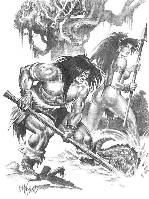 Conan The Cruel - Gual 1