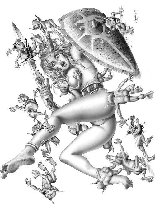 Warrior Queens 1 - Gerard Gallego 1