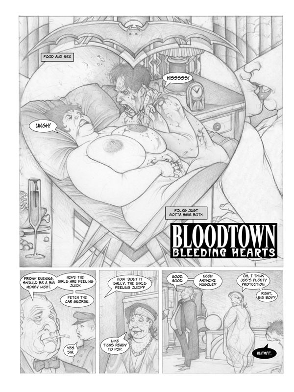 Sample art from Mitch Byrd's Big Girl Adventures