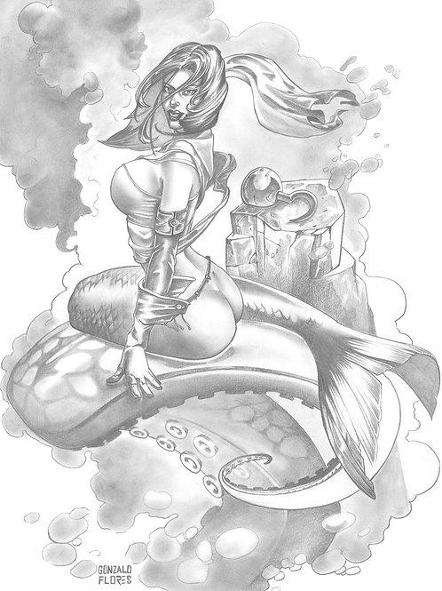 Mermaids 4 - Flores 1