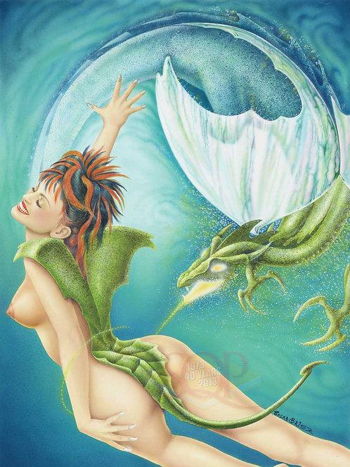 Mermaid Song Artwork - Cesar Britez