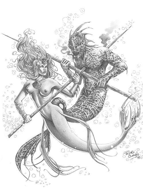 Mermaids 1 - Cuevas 1