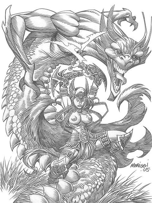 Warrior Queens 2 - Meriggi 3