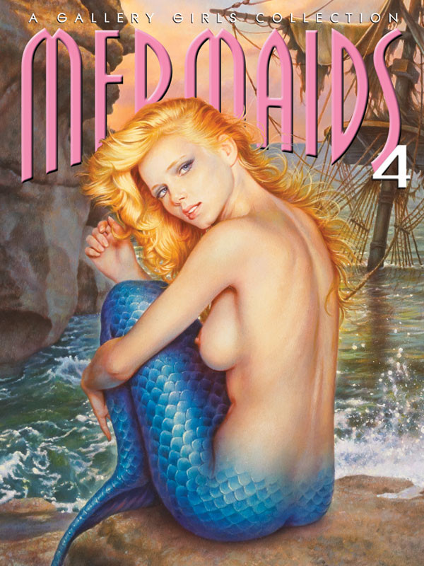 Mermaids 4 - A Gallery Girls Collection Cover Art by Pelaez