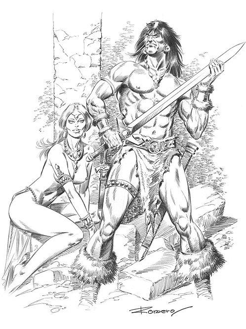 Conan The Cruel - Romero 1