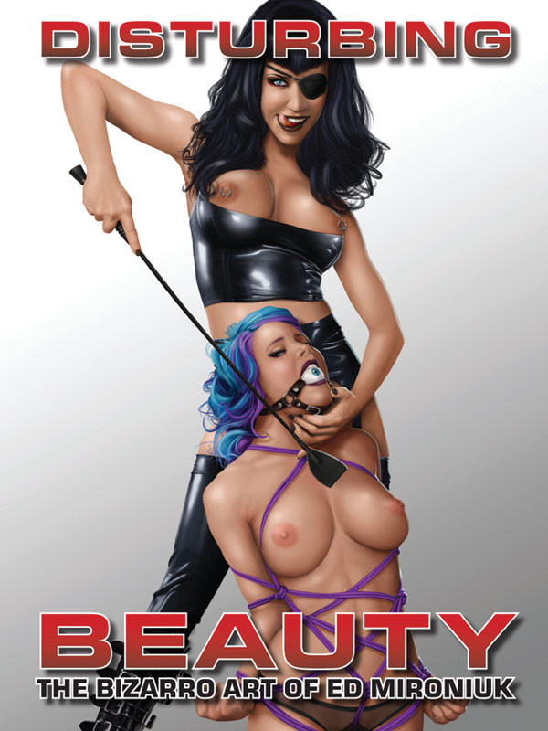 Disturbing Beauty Cover Art by Ed Mironiuk