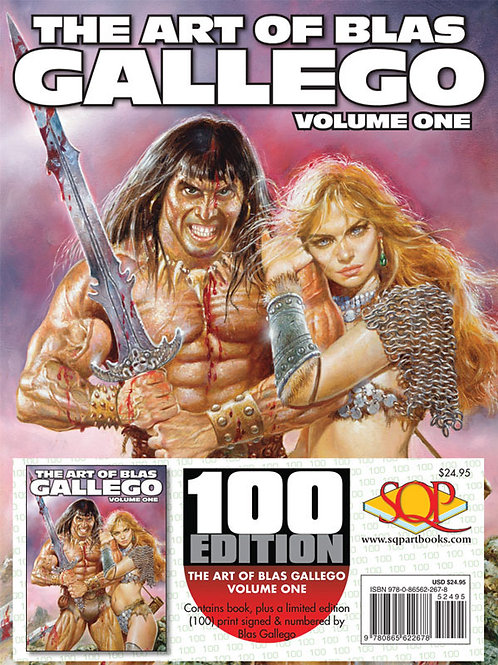 Art of Blas Gallego - 100 Edition