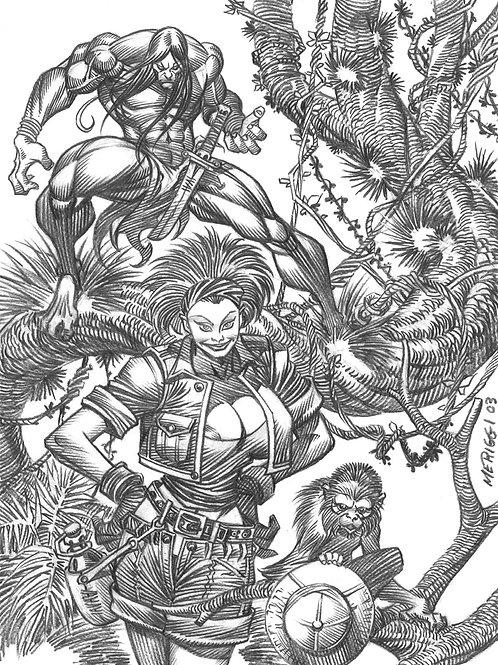 Jungle Tails 4 - Meriggi 1