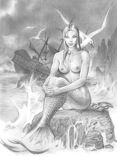 Mermaids 1 - DelRivero 1