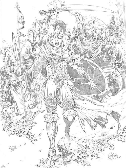 Warrior Queens 1 - Diaz 2