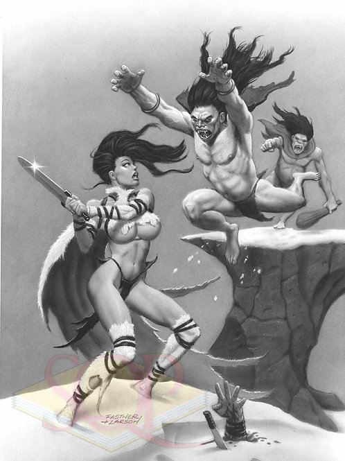 Cave Babes 1 by Fastner and Larson