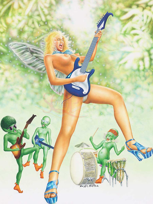 Fairy Song Artwork - Cesar Britez