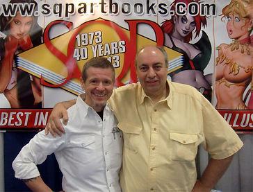 Bob Keenan and Sal Quartuccio - SDCC 2015