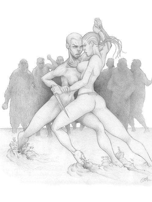 Warrior Queens 2 - Buci 2