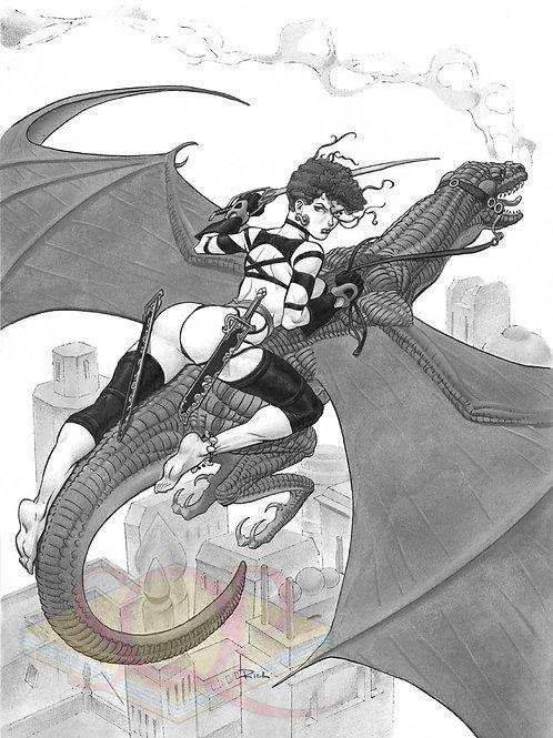 Dragon Ladies 6 by Rich Larson