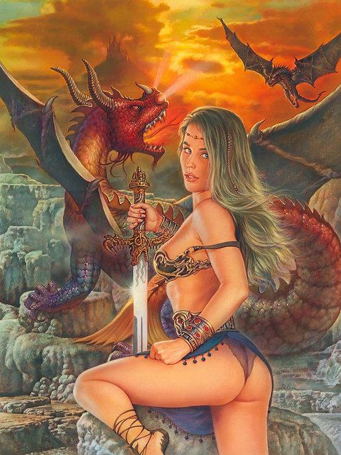 Dragon Tails 3 Cover - Pelaez