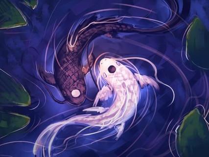 La vita è l'armonia con cui si fondono Yin e Yang