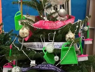 Christmas Tree Festival. St. Catharine's Church, Church Road, Baglan, Port Talbot.