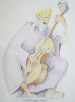 Der alte Salomo singt das Hohe Lied