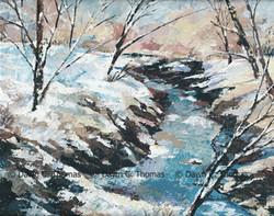 Snowy Stream