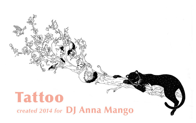 Elvira Bernhardt | Tattoo DJ Anna Mango