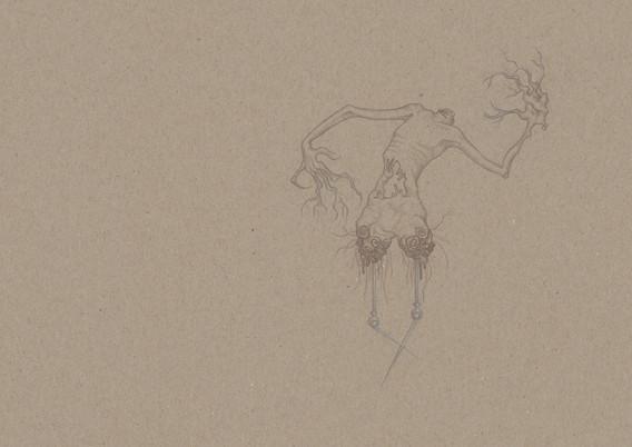 Elvira Bernhardt | Zeichnung EX1