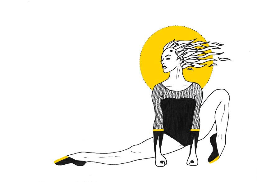 Elvira Bernhardt   Dance Yellow
