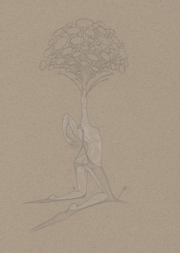 Elvira Bernhardt | Zeichnung EX2