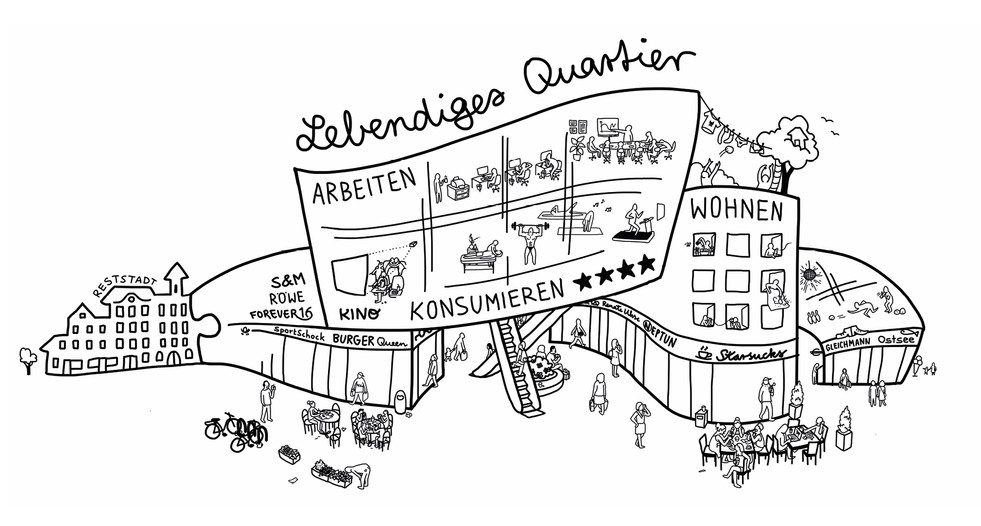 Elvira Bernhardt | Infografik Lebendiges Quartier