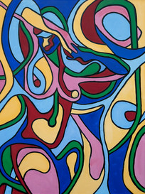 Tribute to Mondrian