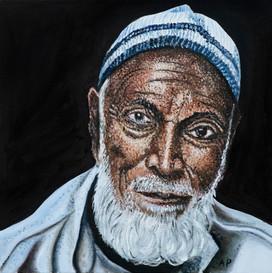 Old Muslim Worker