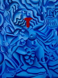 Ma Kali in Blue