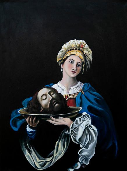 Salome with the Head of John the Baptist 1