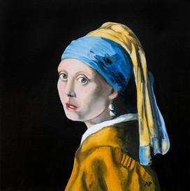 Vermeer's Girl with the Pearl Earings