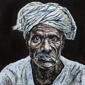 Old Man with a Bidi