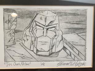Frank Welker Fan Art - Transformers