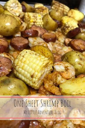 One-Sheet Shrimp Boil