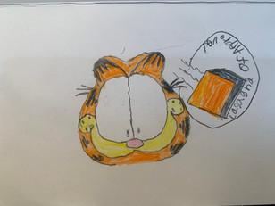 Frank Welker Fan Art - Garfield